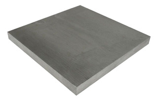 Chapa De Alumínio 5052 - F 1/2 X 100mm X 1000mm