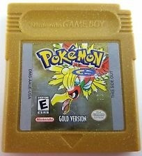 Pokemon Gold Idioma Ingles Original Gbc