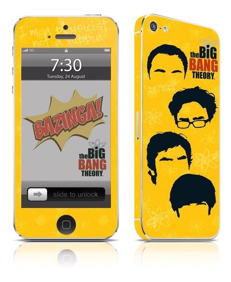 Adesivo Para Celular The Big Bang Theory Icons - Para iPhone