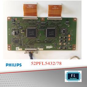 Placa T-com Tv Philips 52pfl5432/78 ; + Cabos Flet