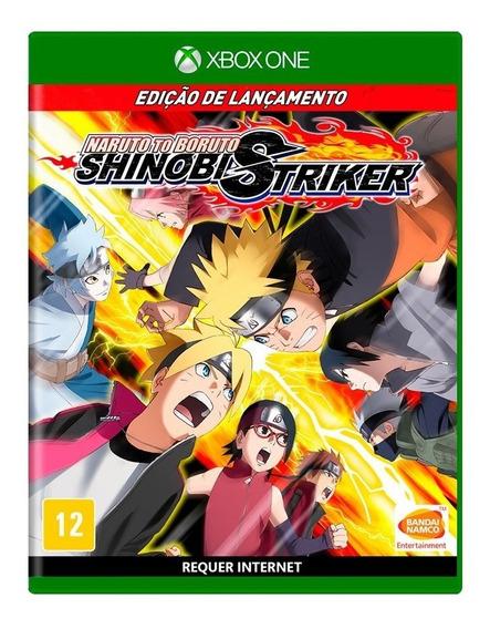 Naruto To Boruto Shinobi Striker Ed De Lançamento Xbox One