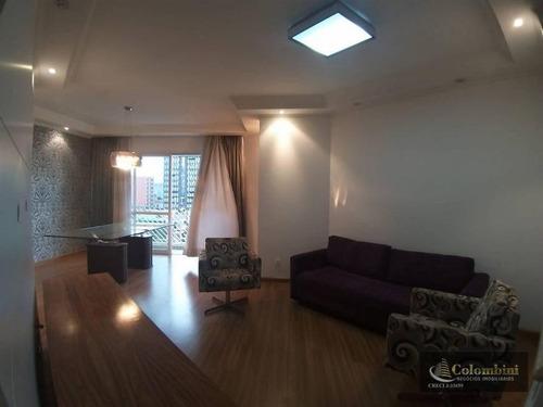 Imagem 1 de 20 de Apartamento Com 3 Dormitórios À Venda, 125 M² - Santa Paula - São Caetano Do Sul/sp - Ap1305