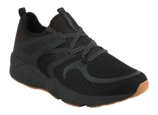 Tenis Casual Negro Prokennex Px Motion 56ma Imp 184321
