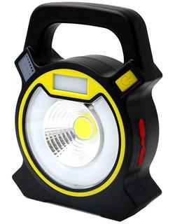 Iluminador Led Luminária Lanterna Holofote Camping 4 Modos