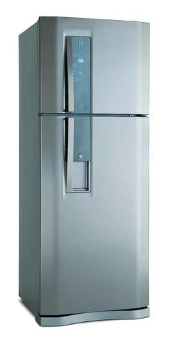 Heladera no frost Electrolux DXW51  acero inoxidable con freezer 441L 220V