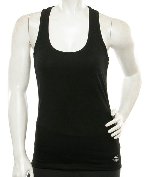 Musculosa Topper Tank Top Basico Mujer