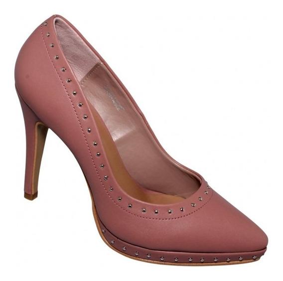Zapatillas De Moda Para Dama Simipiel Rosa Marca Dorothy Gay