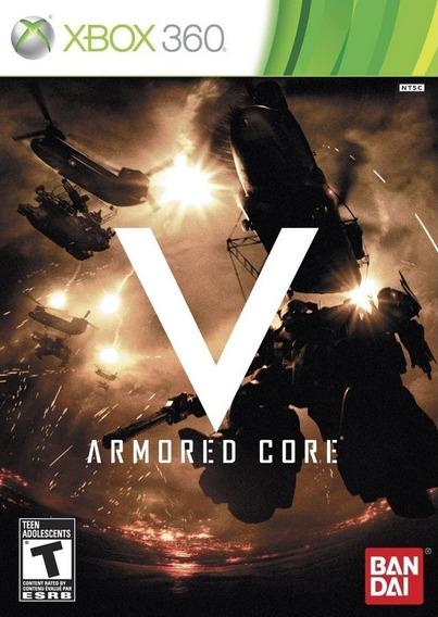 Jogo Armored Core V Xbox 360 Novo Lacrado Midia Fisica