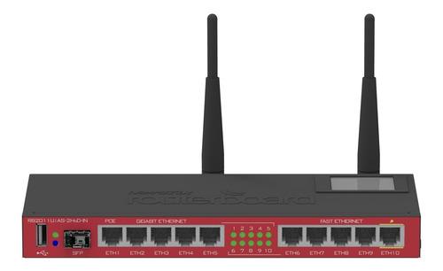 Router Mikrotik Routerboard Gigabit Lan Puerto Sfp Ethernet