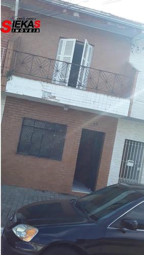 Imagem 1 de 14 de Sobrado Residencial Ou Comercial- Sem Vaga De Garagem
