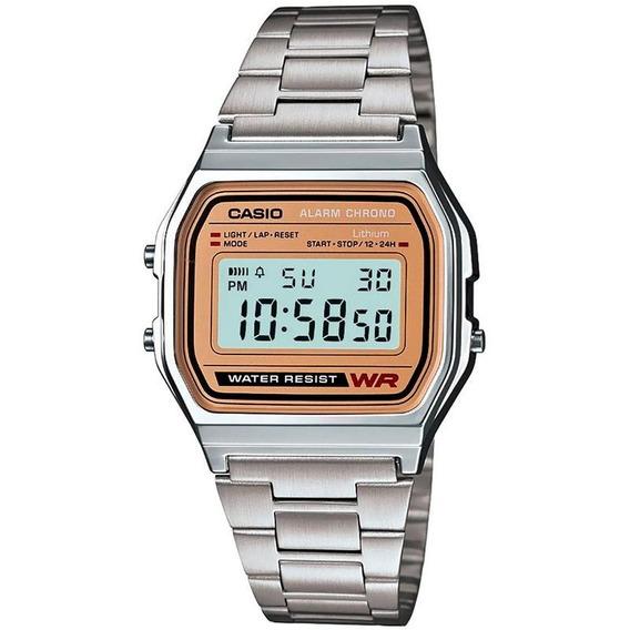 Reloj Casio Vintage Original A158wea-9vt Unisex E-watch