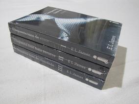 Trilogia Cinquenta Tons De Cinza - E.l. James - 3 Volumes