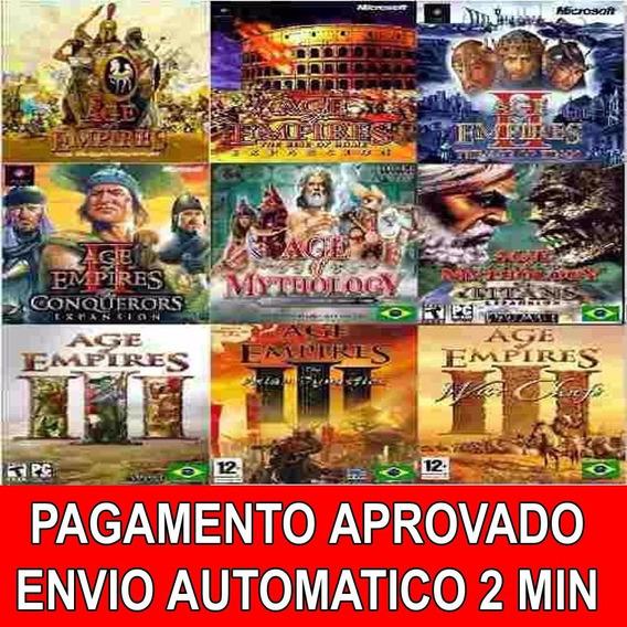 Age Of Empires Coleção Completa Em Português + Download