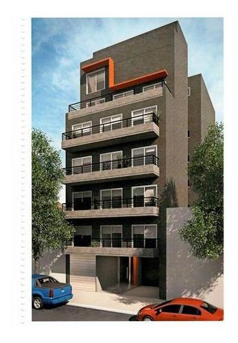 En Construcción - Monoambiente Divisible Con Balcón Al Contrafrente