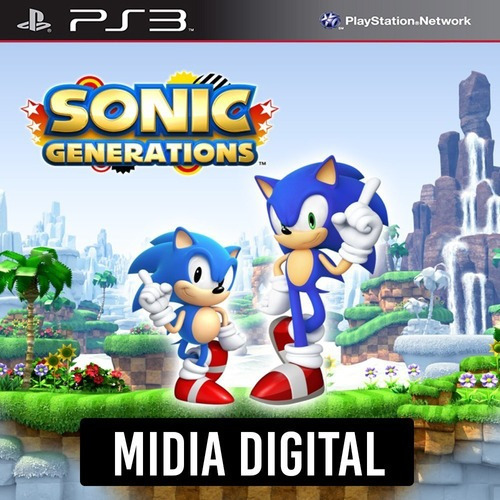 Ps3 Psn* - Sonic Generations