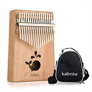 Ybx Thumb Piano 17 Keys Kalimba Regalo De Instrumento De