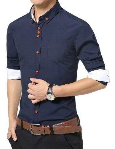 Camisa Social Slim Fit Light Pronta Entrega - Em 2 Cores