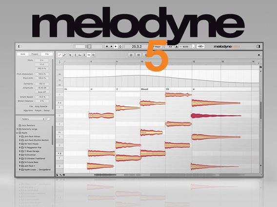 Melodyne 5 Completo Atualizado Win / Mac + Suporte