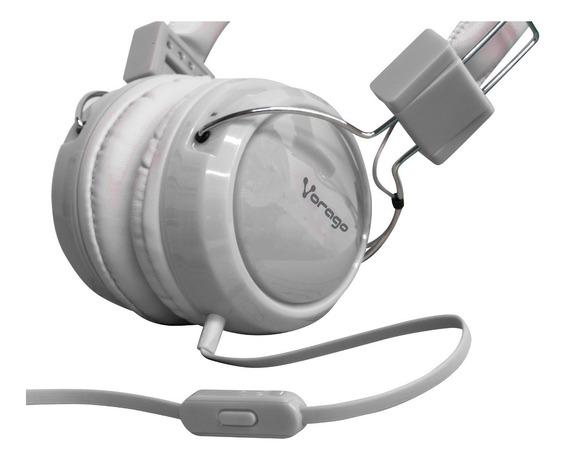 Audifonos Diadema Vorago Manos Libres Con Microfono Un Solo Jack Celulares Smartphone Alta Fidelidad