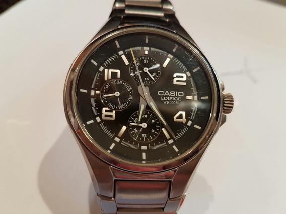 Relógio Casio Edifice Original Modelo 1794 Ef316 Fundo Preto
