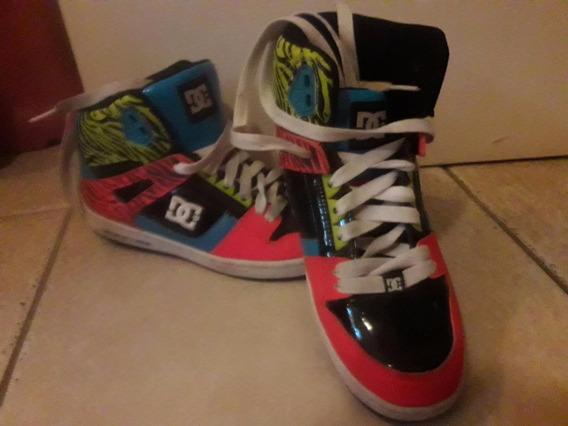 Zapatillas Mujer Dc Shoecousa Talle 38.5 Impecables!!