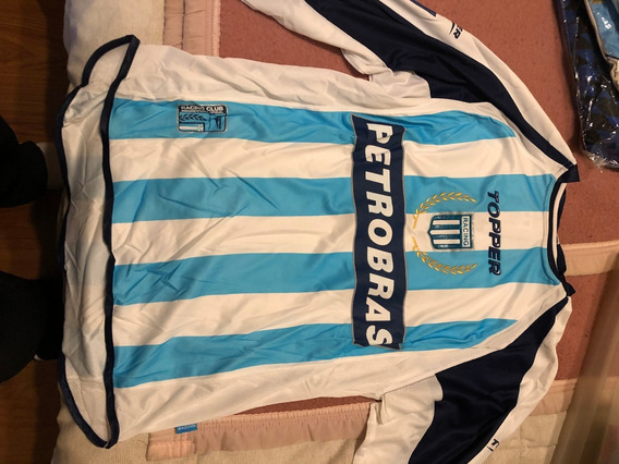 Camiseta De Racing Club Topper Año 2003 Petrobras