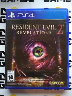 Resident Evil Revelations 2 - Físico - Ps4
