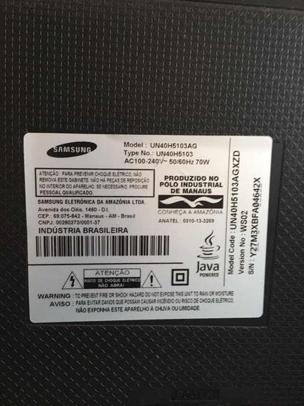 Tv Samsung Smart Com Tela Quebrada
