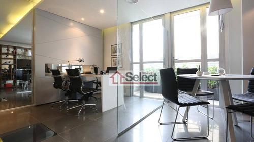Imagem 1 de 17 de Sala À Venda, 39 M² Por R$ 619.206,00 - Bela Vista - São Paulo/sp - Sa0295