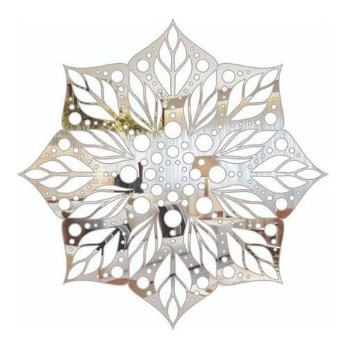 Imagem 1 de 3 de Mandala Espelho Acrilico Decorativo 45x45 Cm