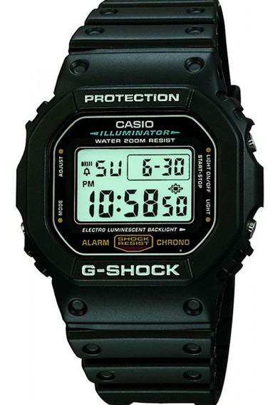 Relógio G-shock Dw-5600e-1vdf Original Garantia Nfe