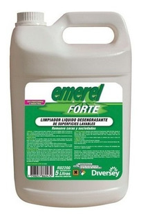 Emerel Forte Limpiador Liquido Desengrasante Bidon 5lts