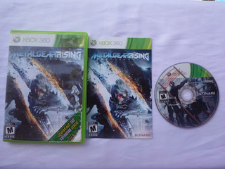 Metal Gear Rising De Xbox 360