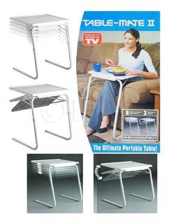 Mesa Table Mate Ii. Ajustable Portátil Plegable