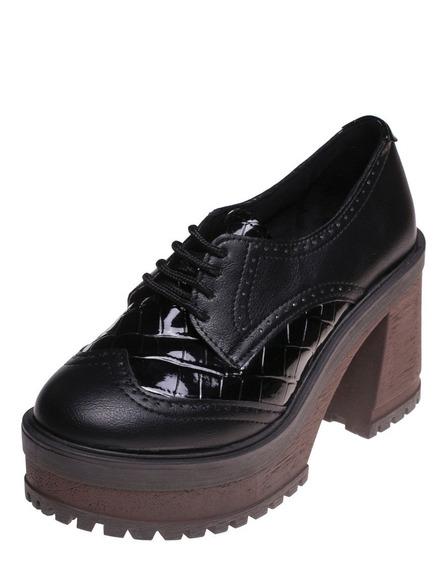 Zapato Savage Dama Mr111 Negro