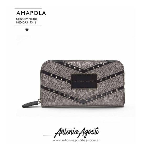 Billetera #amapola - Antonia Agosti