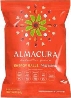 Energy Ball Almacura Proteína De Limón 60g