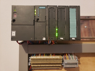 Tablero Didactico Plc Siemens S7-300 314-1ag13-a0b0 E/s