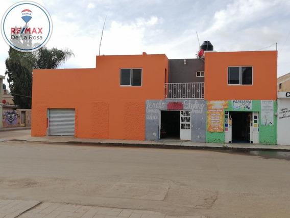 Venta Casa Y Locales Comerciales En Esquina Cercana A La Sep