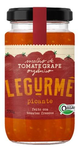 Molho Org Tomate Grape Picante 330g
