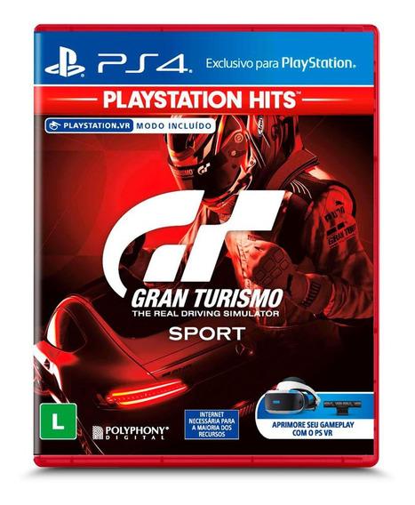 Gran Turismo Ps4 Mídia Física Original Lacrado Promoção