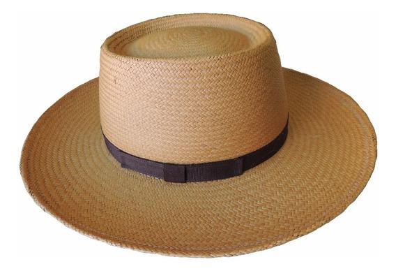 Sombrero Lagomarsino Pampa Panama Verano Gaucho Hombre Sol