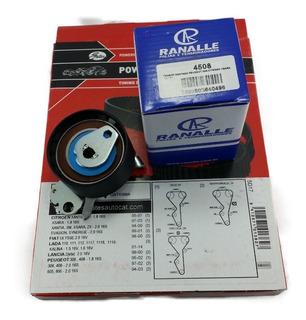 Kit Correia Dentada E Tensor Esticador Peugeot 306 1.8 16v