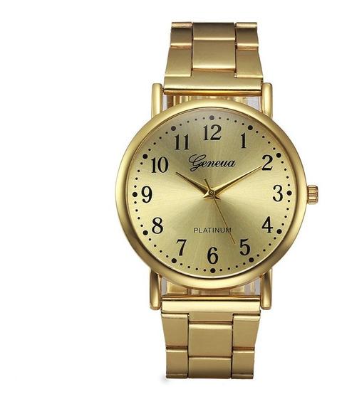Relógio Geneve Dourado