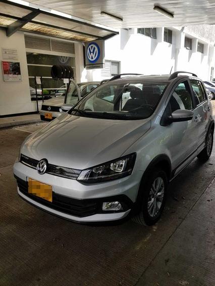 Volkswagen Crossfox 2018 Plata