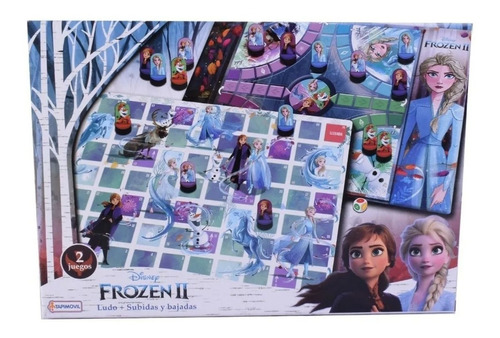 Ludo + Juego De Recorrido 2 En 1 Frozen Disney Store