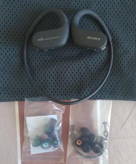 Sony Nw-ws413 4gb Fone De Ouvido Headphone Corrida Natação