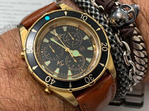 Bulova Marine Star Chronograph Wr100m Quartz