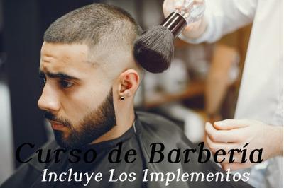 Curso De Barbería (incluye Los Materiales).