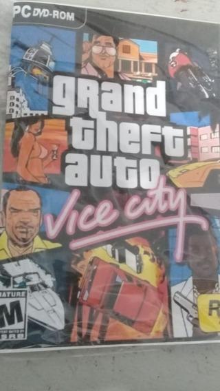 Gta Vice City Para Pc Win 7/8/10 Mídia Física